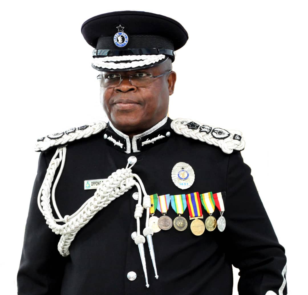 James Oppong Acting IGP