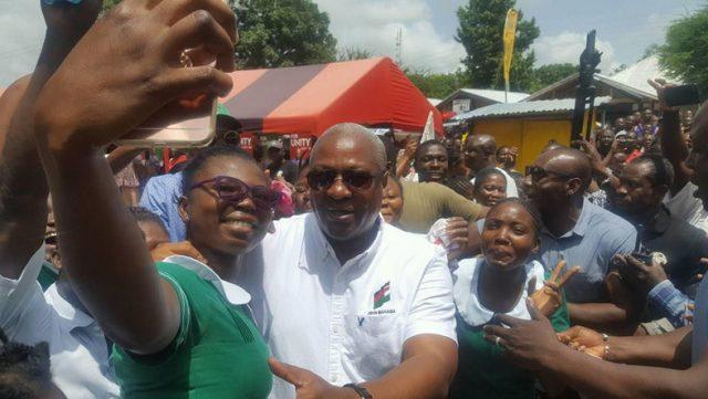 Nurses Support Mahama
