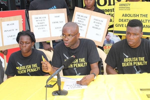 death penalty amnesty ghana