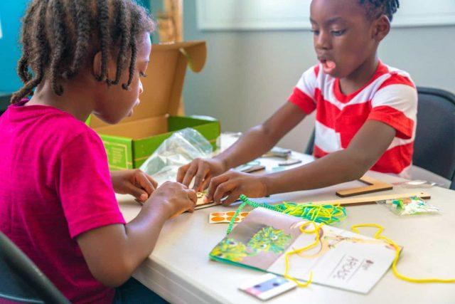 black kids learning