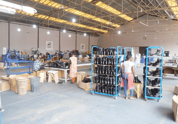 kumasi shoe factory